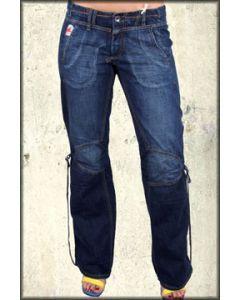 Parasuco Flap Pocket Adjustable Womens Bootcut Denim Jeans in Vintage Wash - ONLY 28 LEFT