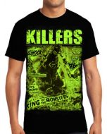 Killers Never Die King Of Monsters Godzilla Japan Mens Short Sleeve T-Shirt in Black - UP TO SIZE XXXL / 3XL